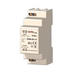 Modular Netzteil LED-Trafo Konverter 8W 14V ZNM-08-14