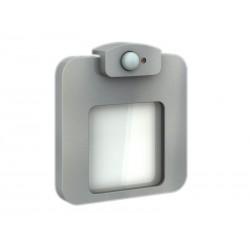 LED MOZA mit Bewegungssensor Aluminium 14V Warmweiß 0,64W