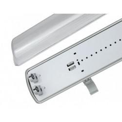 Feuchtraumleuchte IP65 Wannenleuchte LIMEA LED TUBE SpectrumLED