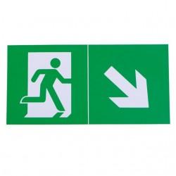 Piktogramme für Notleuchten EXIT PICTO-STEP1-N Kanlux 24686