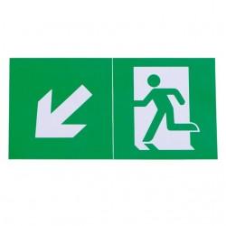Piktogramme für Notleuchten EXIT PICTO-STEP2-N Kanlux 24687