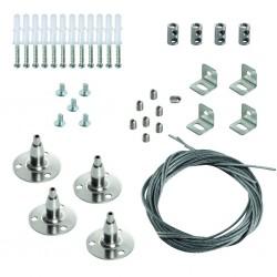 Universelles Stahlseil zum Aufhängen von Leuchten SPN BRAVO S/P 60-62 Kanlux 28504
