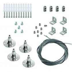 Universelles Stahlseil zum Aufhängen von Leuchten SPN BRAVO S/P 12030 Kanlux 28505