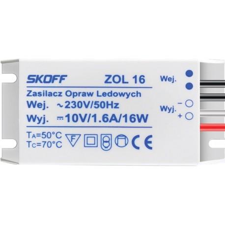 LED-Treiber  LED-Trafo Konverter ZOL-16