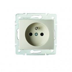 Netzanschluss, einfach, französisch, Kontaktsicherung DOMO 01-1250-203 kr Kanlux 27187