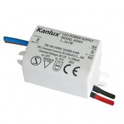 Elektronisches LED-Netzgerät ADI 350 1x3W Kanlux 1440
