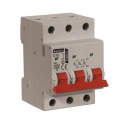 Überstromschutzschalter KS6 C10/3 Kanlux 4461
