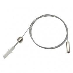 Stahlseilaufhängung für BRAVO LED360 (single), Inhalt 2 Stück ROPE-NT 150 SINGLE Kanlux 7871